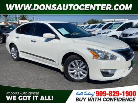 2015 Nissan Altima for sale at Dons Auto Center in Fontana CA