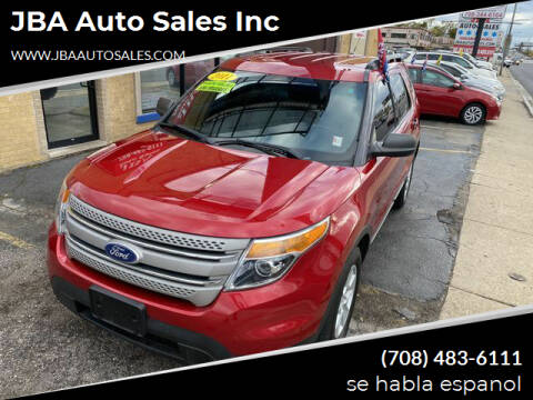 2011 Ford Explorer for sale at JBA Auto Sales Inc in Stone Park IL
