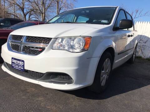 2014 Dodge Grand Caravan for sale at Certified Auto Exchange in Keyport NJ