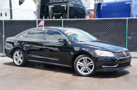 2014 Volkswagen Passat for sale at MATRIX AUTO SALES INC in Miami FL