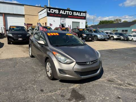 2011 Hyundai Elantra for sale at Lo's Auto Sales in Cincinnati OH
