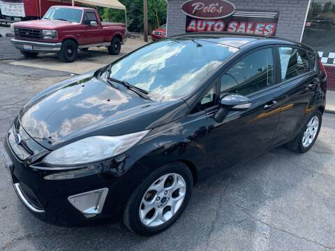 2011 Ford Fiesta for sale at PETE'S AUTO SALES LLC - Middletown in Middletown OH