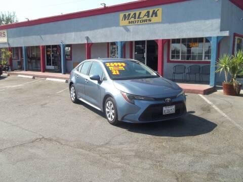 2021 Toyota Corolla for sale at Atayas Motors INC #1 in Sacramento CA