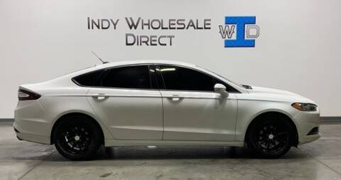 2013 Ford Fusion for sale at Indy Wholesale Direct in Carmel IN