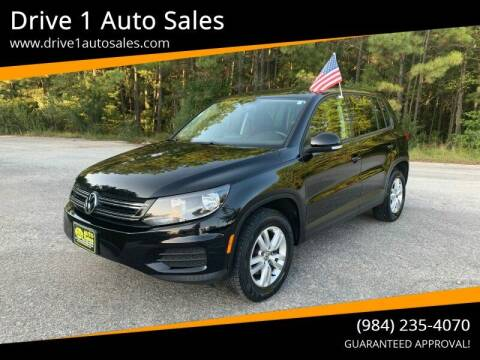 2013 Volkswagen Tiguan for sale at Drive 1 Auto Sales in Wake Forest NC