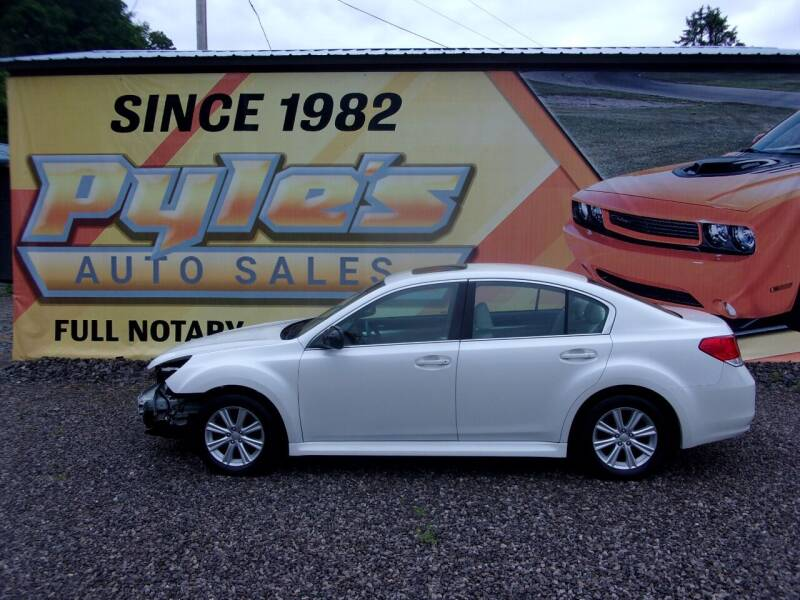 2010 Subaru Legacy for sale at Pyles Auto Sales in Kittanning PA