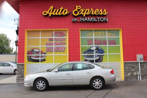 2008 Buick LaCrosse for sale at AUTO EXPRESS OF HAMILTON LLC in Hamilton OH