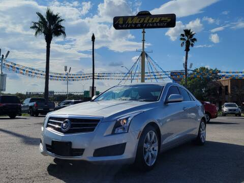 2014 Cadillac ATS for sale at A MOTORS SALES AND FINANCE - 5630 San Pedro Ave in San Antonio TX