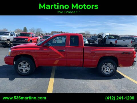 2006 Dodge Dakota for sale at Martino Motors in Pittsburgh PA