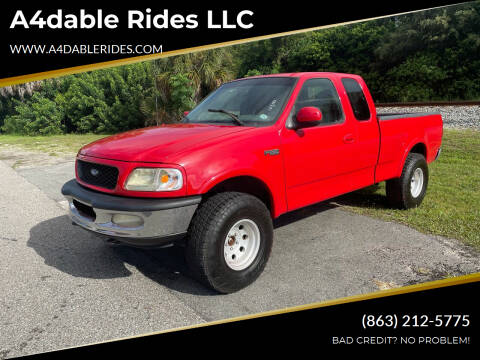 1997 Ford F-150 for sale at A4dable Rides LLC in Haines City FL