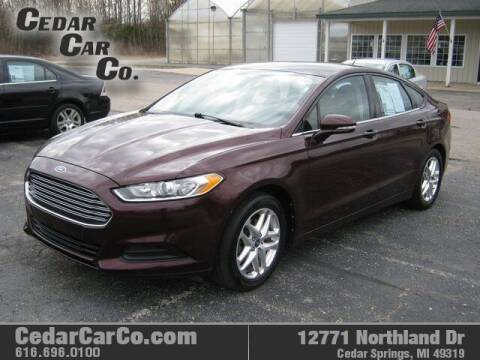 2013 Ford Fusion for sale at Cedar Car Co in Cedar Springs MI