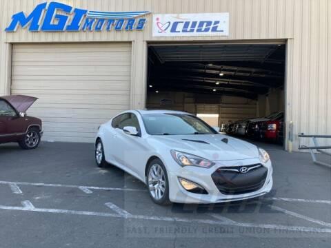 2013 Hyundai Genesis Coupe for sale at MGI Motors in Sacramento CA