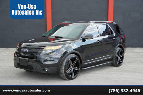 2015 Ford Explorer for sale at Ven-Usa Autosales Inc in Miami FL