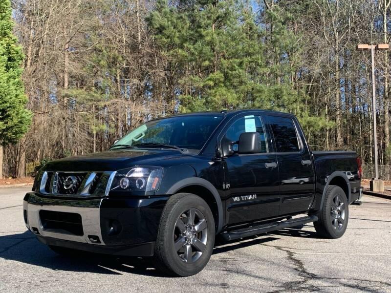 2015 Nissan Titan for sale at GR Motor Company in Garner NC