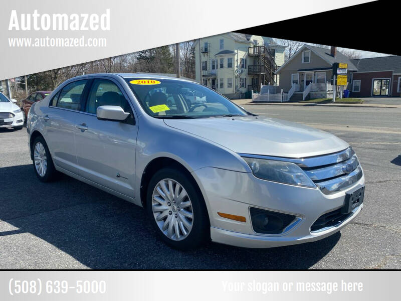 2010 Ford Fusion Hybrid for sale at Automazed in Attleboro MA