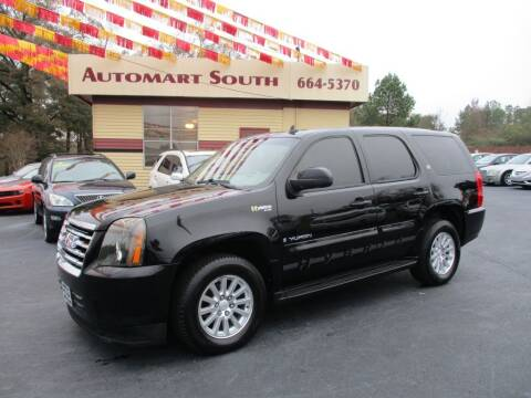 2008 GMC Yukon for sale at Automart South in Alabaster AL