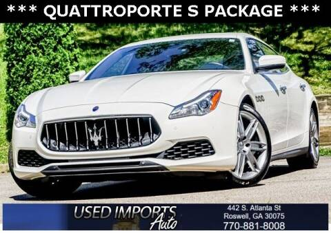 2017 Maserati Quattroporte for sale at Used Imports Auto in Roswell GA