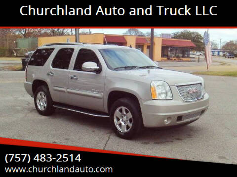 2007 GMC Yukon for sale at Churchland Auto and Truck LLC in Portsmouth VA