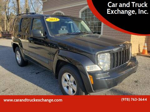 2012 Jeep Liberty for sale at Car and Truck Exchange, Inc. in Rowley MA