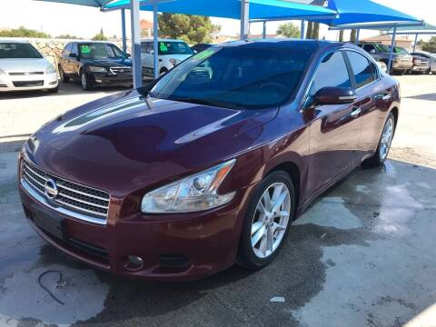 2009 Nissan Maxima for sale at Autos Montes in Socorro TX