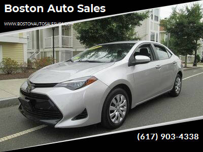 2018 Toyota Corolla for sale at Boston Auto Sales in Brighton MA