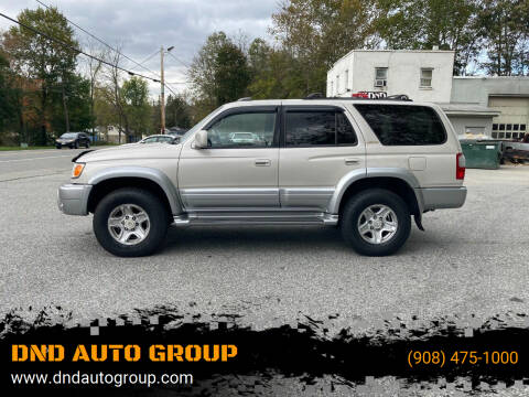 1999 Toyota 4Runner for sale at DND AUTO GROUP in Belvidere NJ