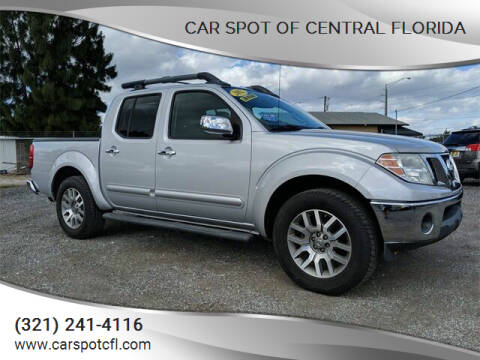 2012 Nissan Frontier for sale at Car Spot Of Central Florida in Melbourne FL