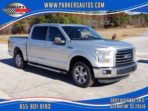 2016 Ford F-150 for sale at Parker's Used Cars in Blenheim SC
