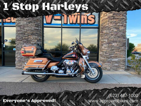 2008 Harley Davidson FLHTCUI for sale at 1 Stop Harleys in Peoria AZ