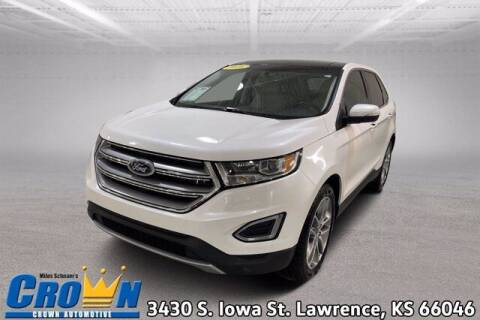 2016 Ford Edge for sale at Crown Automotive of Lawrence Kansas in Lawrence KS