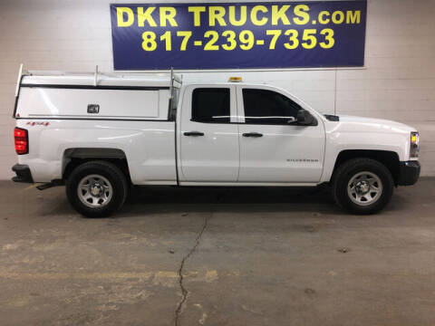 2017 Chevrolet Silverado 1500 for sale at DKR Trucks in Arlington TX