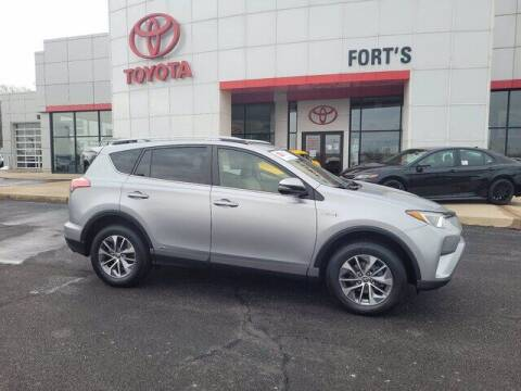 2017 Toyota RAV4 Hybrid for sale at Auto Smart of Pekin in Pekin IL