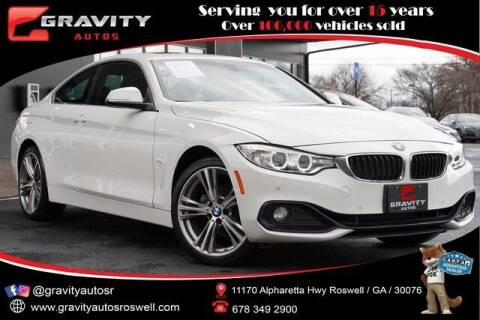 2017 BMW 4 Series for sale at Gravity Autos Roswell in Roswell GA
