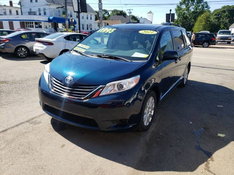 2011 Toyota Sienna for sale at TC Auto Repair and Sales Inc in Abington MA