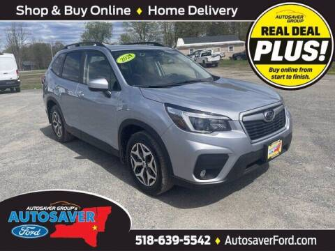 2021 Subaru Forester for sale at Autosaver Ford in Comstock NY