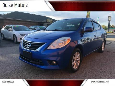 2012 Nissan Versa for sale at Boise Motorz in Boise ID