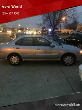 2004 Nissan Sentra for sale at Auto World in Carbondale IL