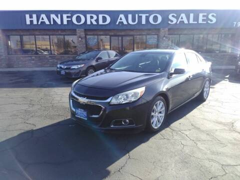2014 Chevrolet Malibu for sale at Hanford Auto Sales in Hanford CA