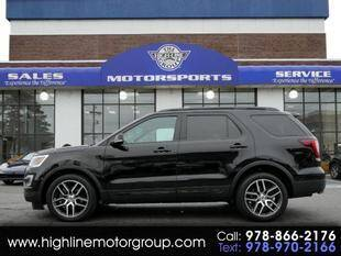 2017 Ford Explorer for sale at Highline Group Motorsports in Lowell MA