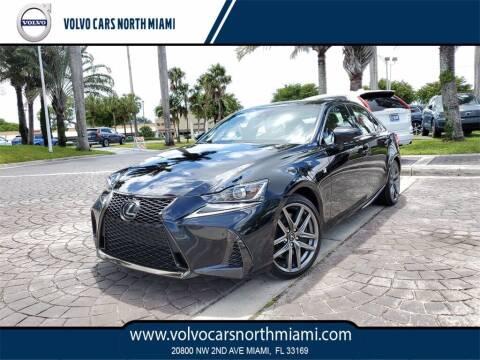 2017 Lexus IS 200t for sale at Volvo Cars North Miami in Miami FL