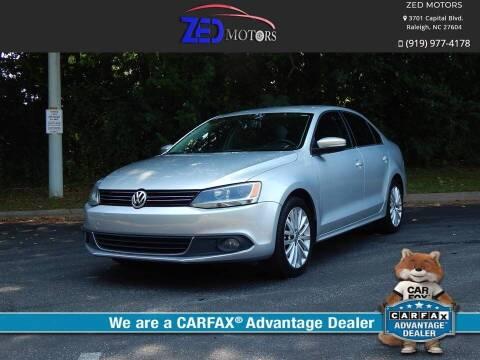 2011 Volkswagen Jetta for sale at Zed Motors in Raleigh NC