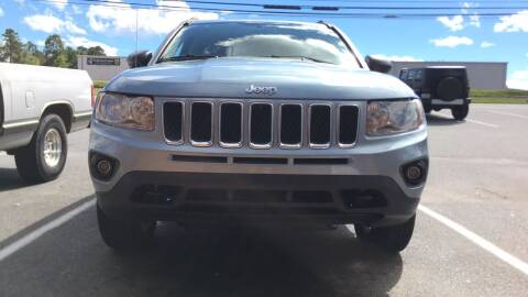 2013 Jeep Compass for sale at S & H AUTO LLC in Granite Falls NC
