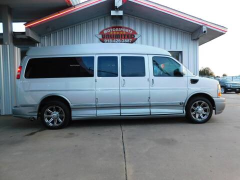 2014 GMC Savana Cargo for sale at Motorsports Unlimited in McAlester OK