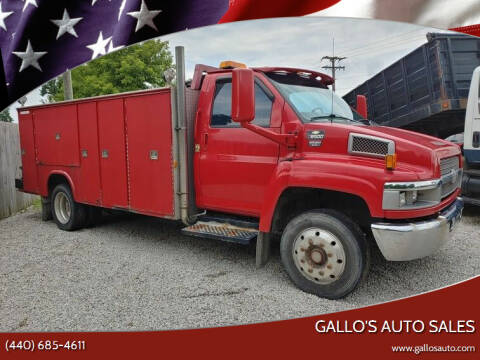 2005 Chevrolet C5500 for sale at Gallo's Auto Sales in North Bloomfield OH