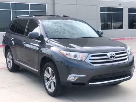 2012 Toyota Highlander for sale at Executive Auto Sales DFW LLC in Arlington TX