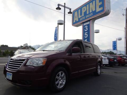 2008 Chrysler Town and Country for sale at Alpine Auto Sales in Salt Lake City UT