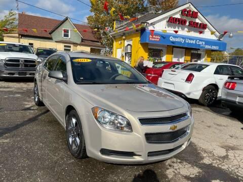2011 Chevrolet Malibu for sale at C & M Auto Sales in Detroit MI