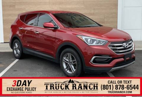 2017 Hyundai Santa Fe Sport for sale at Truck Ranch in American Fork UT