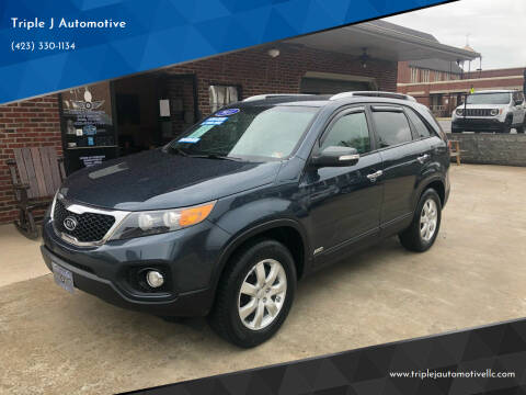 2011 Kia Sorento for sale at Triple J Automotive in Erwin TN