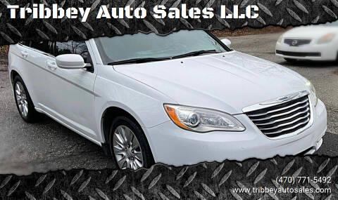 2013 Chrysler 200 for sale at Tribbey Auto Sales in Stockbridge GA
